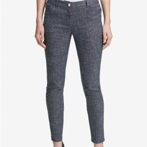 Tommy Hilfiger Womens Berkeley Tweed Slim-Fit Pant